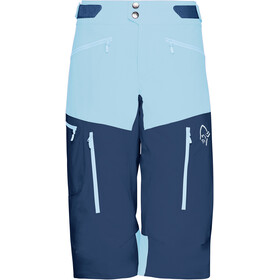 Norrøna Fjørå Flex1 Short Femme, trick blue/indigo night